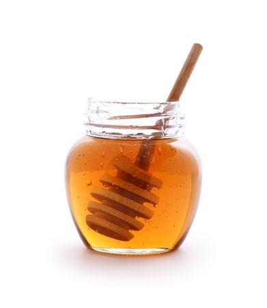 honey pot: honey