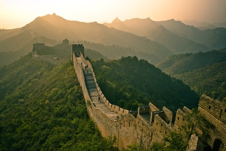 great wall of china Stock Photo - 7160920