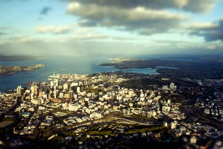 Top view of Auckland, New Zealand, 2007  photo