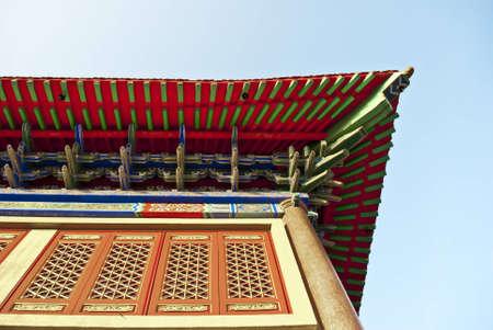 lengnoeiyi: China Temple style Stock Photo