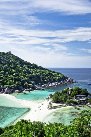 nangyuan: Koh Nangyuan Island Viewpoint Stock Photo