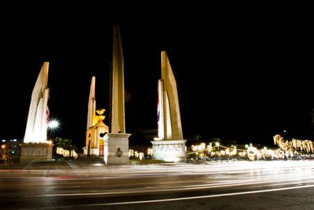 The Democracy Monument in Bangkok  photo