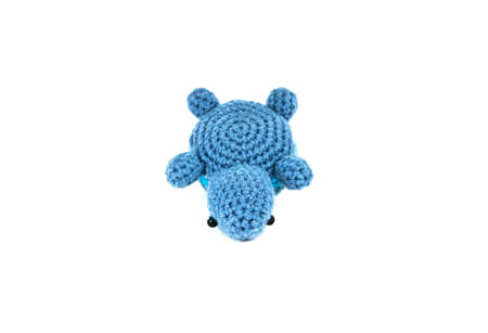 Turtle Knitted doll  Stock Photo - 9839097