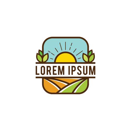 Farm logo design Imagens - 95115115