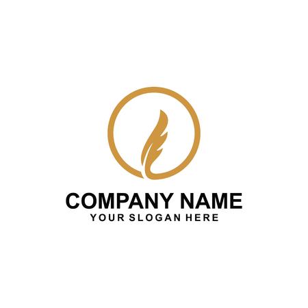 Fur logo design Ilustrace