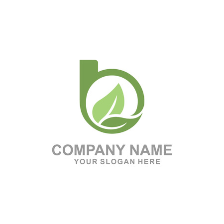 B Brief Logo Design Standard-Bild - 95147923