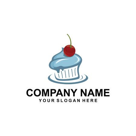 Cake logo design. Imagens - 95248892