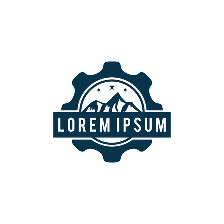 Mountain one icon design. Imagens - 95367099