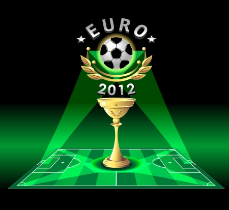 Cup of EURO 2012 or demonstration football championship
