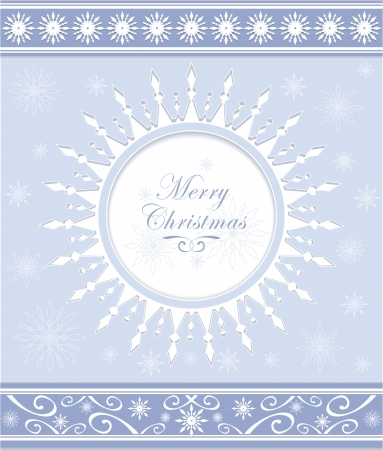 on decorate mobile telephone: Winter background or snowflakes frame with ornament for invitation winter holiday