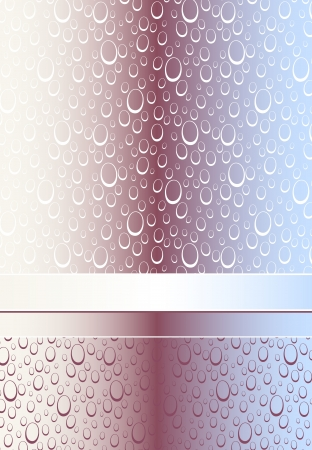 Abstract Seamless pattern or background with bubbles or drops for advertising something Vector
