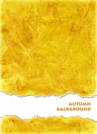 for example: Watercolors background  in orange  yellow colors