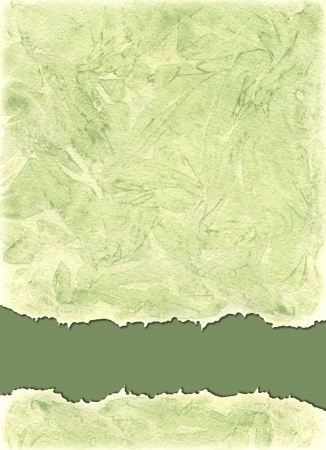 Watercolors background  in green olive colors photo