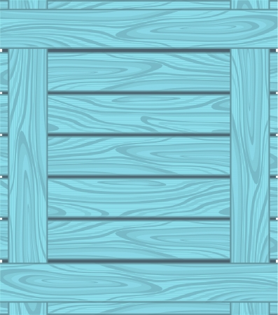 wood grain: Background of blue boards with wood grain Illustration