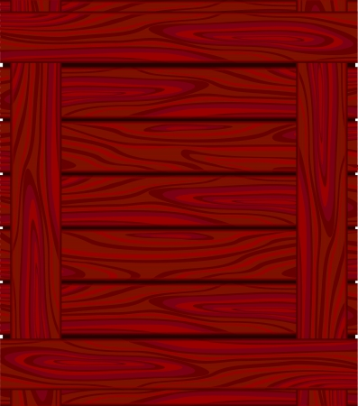 wood grain: Background of red brown  boards with wood grain Illustration