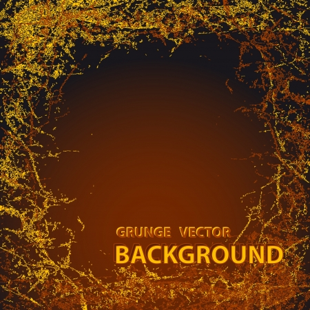 Background with Grunge in dark brown colors