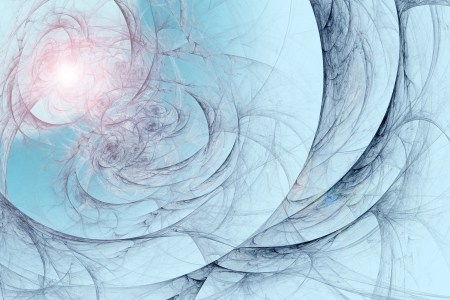 searches: Abstract fractal background in blue marine pink colors