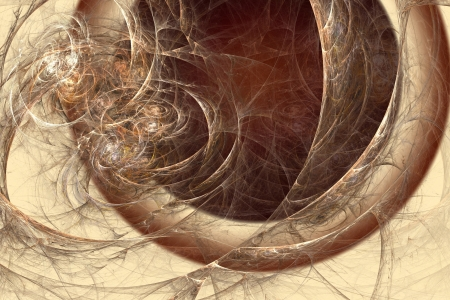microcosm: Abstract fractal background in beige brown coffee  colors