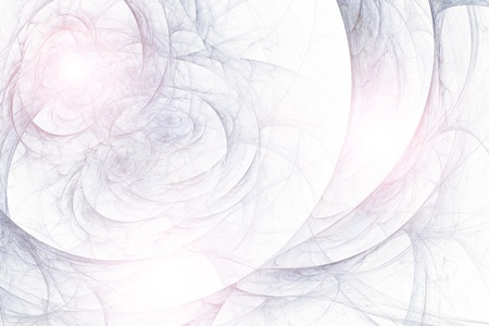 transmutation: Abstract fractal background in white  blue lilac colors Stock Photo