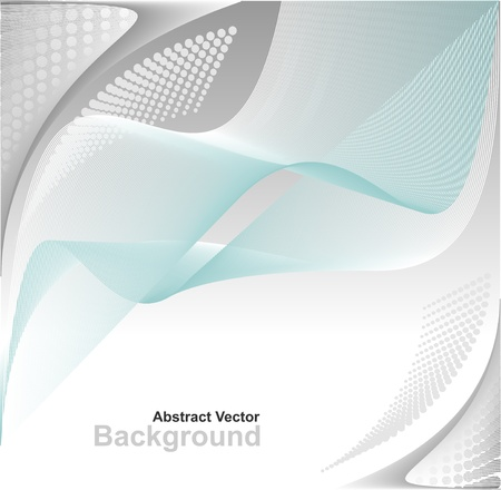 Modern Abstract digital background in blue grey white colors for advertising something Vector