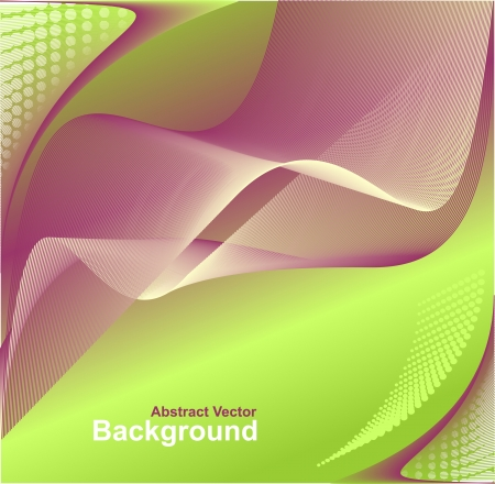 Modern Abstract digital background in green lilac colors for advertising something Stock Vector - 21526158
