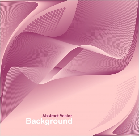 Modern Abstract digital background in pink lilac colors for advertising something Vector