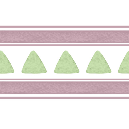 perfumer: Light Seamless pattern with watercolor triangles lines in pastel colors Illustration
