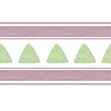 colores pastel: Modelo inconsútil de luz con triángulos acuarela líneas en colores pastel