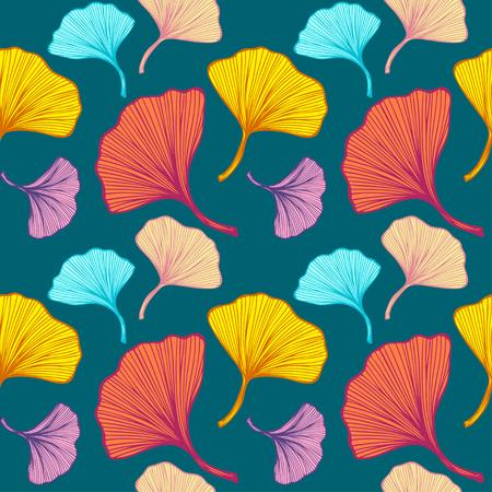 Beautiful bright seamless pattern