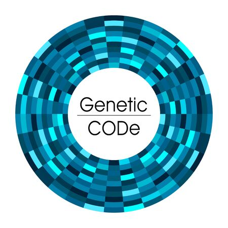 Abstract background for  science medicine  genetic in blue