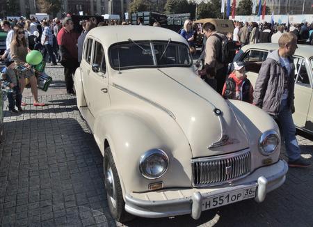 east germany: East Germany car BMW 340 (EMW 340) Editorial