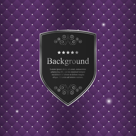 background cover: Vector abstract background with black crest