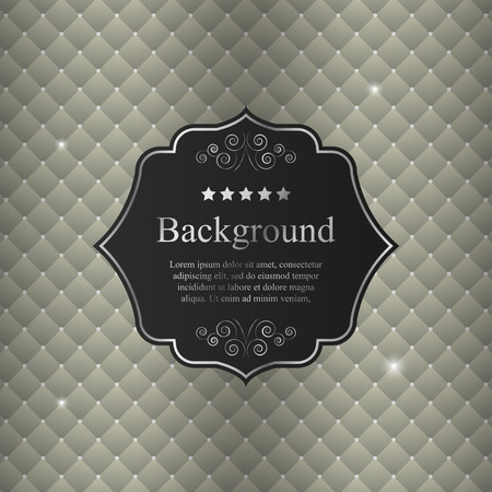 elegant backgrounds: Vector abstract background with black crest