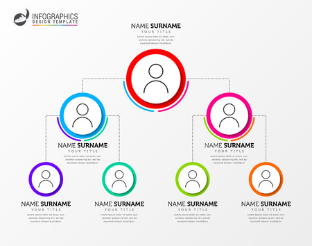 Infographic design template. Creative concept with pyramid system. Can be used for workflow layout, diagram, banner, webdesign. Vector illustration Vector Illustration