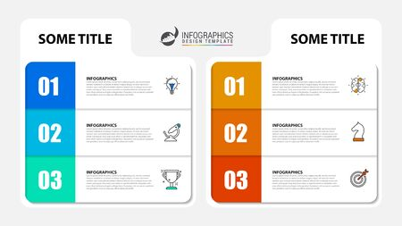 Infographic design template. Creative concept with 6 steps. Can be used for workflow layout, diagram, banner, webdesign. Vector illustration Zdjęcie Seryjne - 130024993