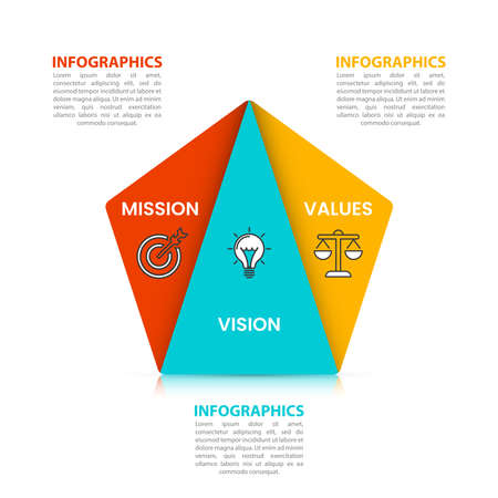 Infographic design template. Creative concept with 3 steps. Can be used for workflow layout, diagram, banner, webdesign. Vector illustration. Vektoros illusztráció