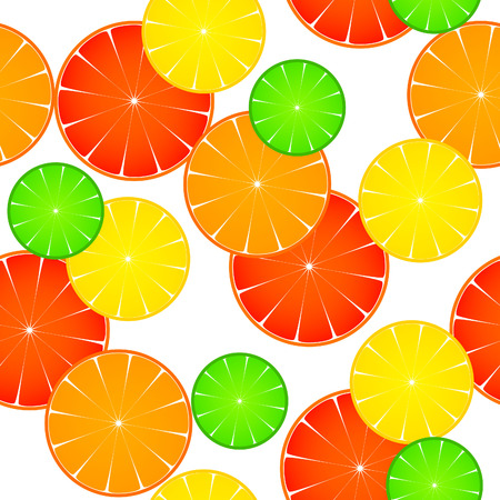 lemon lime: modello con arancia limone e pompelmo