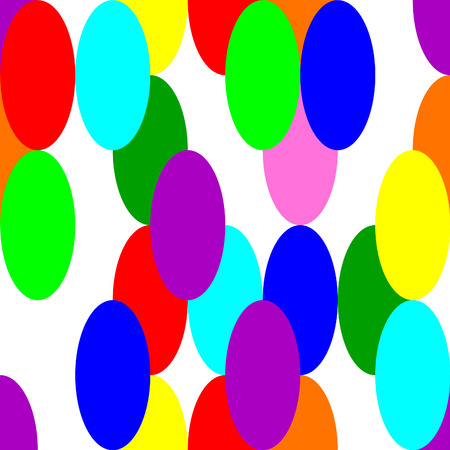 ellipses: geometric colorfull pattern made of colorfull ellipses
