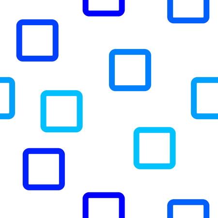 simple background: simple square pattern with blue shades and white background Illustration