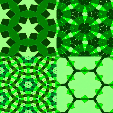 chirpy: set of 4 green textures, 6kx6k each of seamless patterns