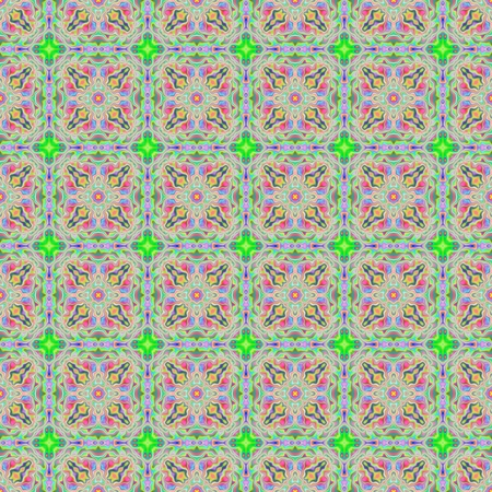seamless colorful pattern, colored background, floor tiles