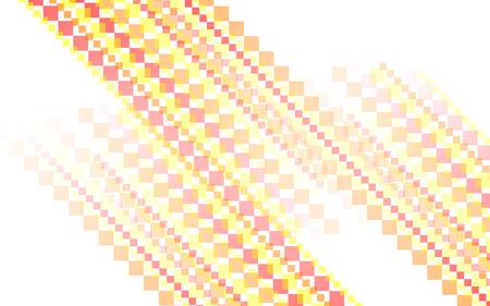 futurist: orange-red square abstract background