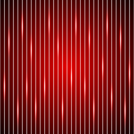 tech red background, shining red line background
