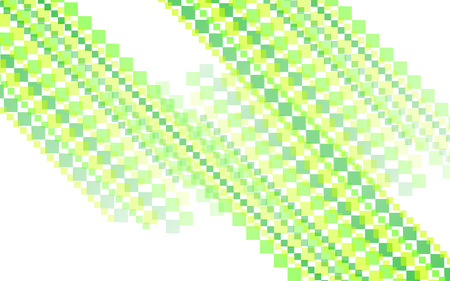 futurist: yellow green square abstract background Illustration