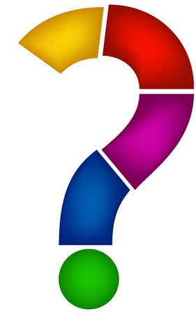 point d interrogation: infographies illustration, conception de sites Web, question propre marque infographies Illustration