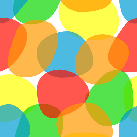 seamless colored pattern, colorful summer background Ilustracja