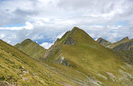 sharp: Sharp peaks of Fagaras mountains, Romania