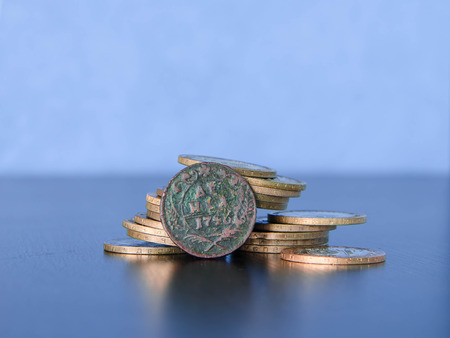 worthless: Ancient Russian money, old coins, treasure