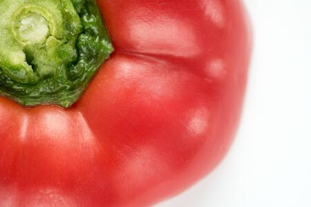 Sweet red pepper, close-up, vegetables
