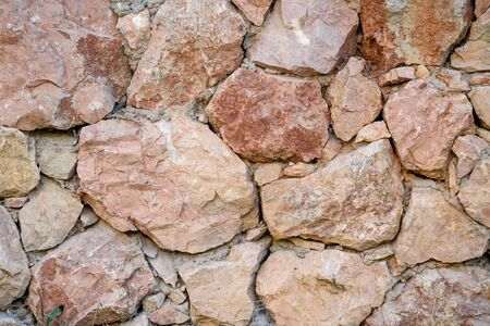 The texture of the wall is masonry. Background image.